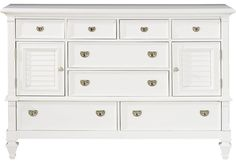 Belmar White Dresser.599.99. 66W x 20D x 40H. Find affordable Dressers for your home that will complement the rest of your furniture. #iSofa #roomstogo
