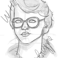 Working away.. #art #sketchbook #barb #strangerthings #wip #strange #strangethings #Netflix #netflixseries #portrait #lacyjae #lacyjaeart