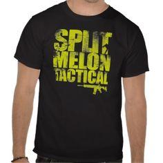 Split Melon Tactical Tee #splitmelon #guntees #guns #tshirts #gunshirts