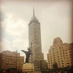 @irygoyen Hola D.F. #centroDF #centrohistoricodf #CDMX #building #tower