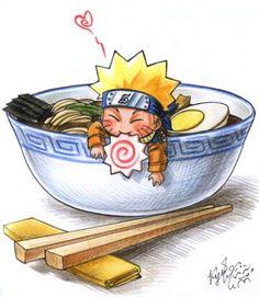 uzumaki ramen recipe Asian Kitchen print, recipe food decor, Illustrated poster ,