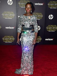 Lupita Nyong'o Sparkles in Alexandre Vauthier