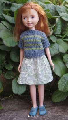 Tree Change Doll OOAK, repainted, restyled, second-hand doll upcycled by artist Sonia Singh Bratz Doll, Ooak Dolls, Art Dolls, Sonia Singh, Tree Change Dolls, Disney Animator Doll, Handmade Skirts, Doll Repaint, Doll Head