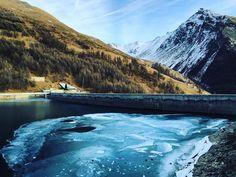#diga di #rochemolles #bardonecchia #italy #dam #lake #trekking #mountain #nature #neverstopexploring #friends #firstday by pomatteo