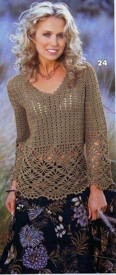 Uma blusa linda moderninha e perfeita para meia estação!           grafico 1   grafico2