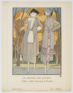 Le Retour des Autans (The Return of the South Wind) | Fernand Simeon | V&A Search the Collections - I received a copy of this print as a gift today!