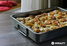 Paella, Potato Salad, Macaroni And Cheese, Cauliflower, Bacon, Pork, Food And Drink, Potatoes, Vegetables