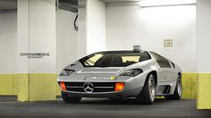 Isdera Imperator 108i. This one equipped with the Mercedes - Benz badging.