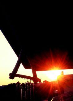 Il mio tramonto per voi Magica sera...
