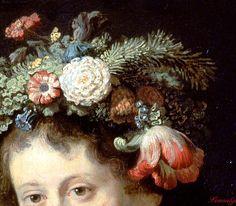 Rembrandt van Rijn, Flora (detail), 1634, oil on canvas, 125 X 101 cm, Hermitage Museum, St. Petersburg