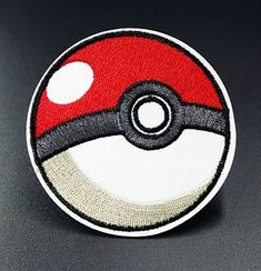 PokeBall Pokemon Ball Embroidered Iron On Sew On Patches Badges Transfers Patch Sew On Patches, Iron On Patches, Clothing Patches, Bmw Logo, Pokemon, Sewing, Badges, Ebay, Accessories
