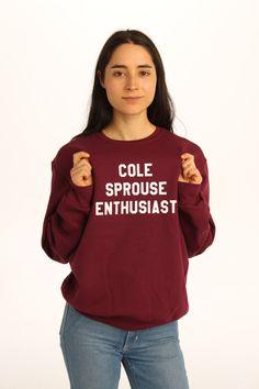 Cole Sprouse Enthusiast Sweatshirt