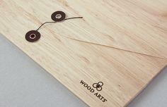 Woodarts - map japanse sluiting   by Skinn Branding Agency