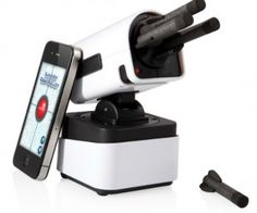 iPhone Rocket Launcher ( $55.50) Another device to add to the long list of things you can control with your iPhone.
