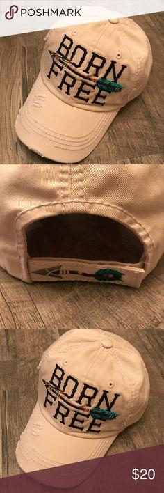 ed1be5db2dc Born Free boho gypsy arrow vintage baseball hat Born Free arrow vintage  style camper hat.
