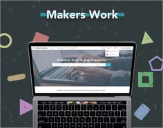 "Check out my @Behance project: ""Makers Work Website"" https://www.behance.net/gallery/51719845/Makers-Work-Website"