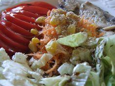 Salade composée destructurée