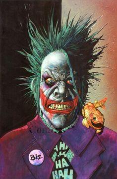 The Joker by Simon Bisley