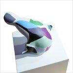 sculpture -L 17cm X 15cm X H10cm - plaster-resin - 2010©Jaja - Private collection