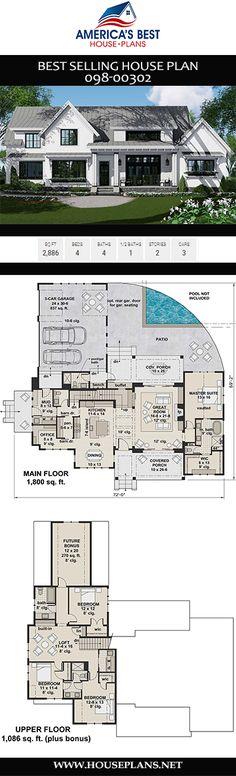 27 best floor plan 4 bedroom images future house house rh pinterest com