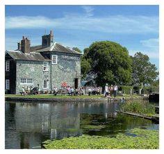 Turf Locks Hotel, an unusual Devon pub best reached by ferry, bike or on foot.