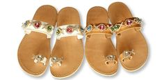 Christina Fragista luxury sandals | Living Postcards - The new face of Greece