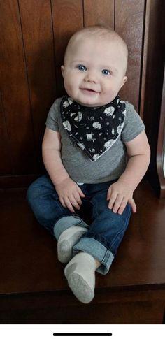 Cute Babies Bandana Dribble Bibs Multi Pack Baby Girls Boys Cotton 6A