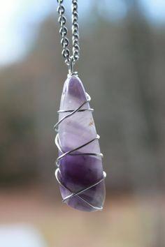 Crystals Stones, Healing Stones Jewelry, Healing Stone Jewelry, Chakra Stones, Amethyst Jewelry, Natural Stone Jewelry, Stone Necklace