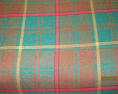 ~~Black Watch Plaid Tartan Fabric~~  ITEM DESCRIPTION :- 59 width cut from the bolt and shipped in excellent packaging.  • 58-59 width- approximately 10.5 ounces/yard • Machine washable and dry-able, and it drapes beautifully! 65% polyester 35% viscose. Hand Woven Fabric Winner will get fabric in one continuous piece. Like to buy more or less fabric in this color. Please e-mail.  This medium weight tartan fabric is ideal for jackets, waistcoats, trousers; skirts, sashes and shawls,Kilts,...