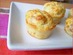 Muffins apéro au roquefort et aux noix