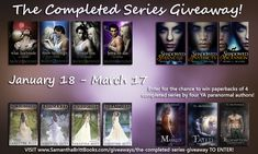 The Completed Series Paperback Giveaway!
