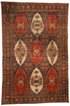 A Persian Senneh carpet