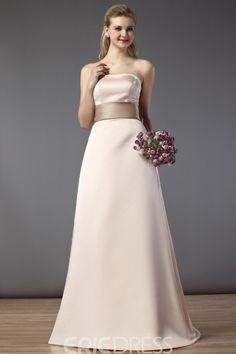 EricDress - EricDress Gorgeous A-Line/Princess Strapless Bridesmaid Dress - AdoreWe.com