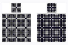 Change the color value of a block's components and you change the look of the quilt.
