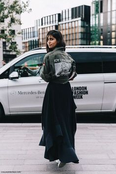 awesome LONDON FASHION WEEK STREET STYLE