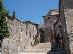 Sermoneta medieval village and its castle