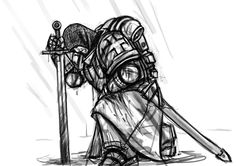 Medieval Knight Kneeling Related Keywords & Suggestions - Medieval . Sword Drawing, Angel Drawing, Templar Knight Tattoo, Medieval Tattoo, Marshmello Wallpapers, Sword Tattoo, Shield Tattoo, Spartan Tattoo, Good Knight
