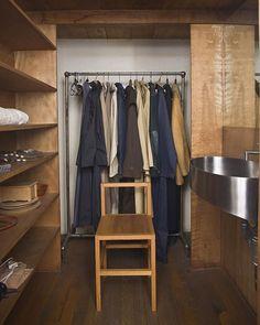 // Donald Judd closet