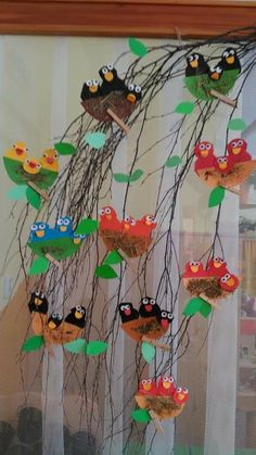 1 million+ Stunning Free Images to Use Anywhere Diy Crafts For School, Paper Crafts For Kids, Bird Crafts Preschool, Easter Crafts, Spring Art, Spring Crafts, Kindergarden Art, Bird Nest Craft, Bird Nests