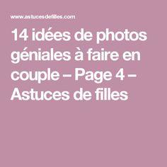 14 idées de photos géniales à faire en couple – Page 4 – Astuces de filles