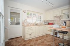The door leads to lobby where the fridge freezer, washing machine and tumble drier are located. Log Burner, Freezer, Washing Machine, Relax, Cottage, The Unit, Holiday, Kitchen, Home Decor