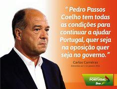 Carlos Carreiras, Vice-Presidente do PSD em entrevista ao jornal I. #PSD. #acimadetudoportugal