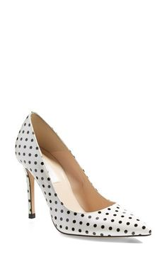 Free shipping and returns on L.K. Bennett 'Fern' Pointy Toe Pump (Women) at Nordstrom.com. The quintessential pointy-toe pump steps out in striking, polka dot spots for the new season. Enhanced with memory foam for superior comfort, the Fern is a timeless investment piece that transcends trends and pairs with anything from skinny denim to evening-out ensembles.