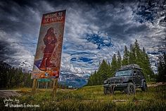 the #vagabondexpedition #overland adventure team does some unusual stuff on occasion.. like searching for #sasquatch in Nordegg  #Alberta.  We've found signs of #bigfoot (like this one) but yet to have witnessed the creature.  #adventure #outdoors #getoutstayout #getoutside #naturalhappyplace #jeepAlert #jeepbeef #jeepmafia #raventruckaccessories #explorealberta #explorecanada #jeepfreeks #overlandexpo #overlandbound