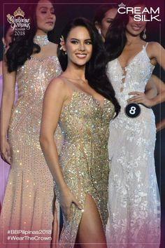 Queen Cat Miss Universe Philippines, Miss Philippines, Philippines Culture, Miss Universe Dresses, Miss Mundo, Alena Shishkova, Filipina Beauty, Pageant Dresses, Formal Dresses