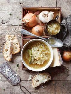 Sunday Soupe à loignon gratinée