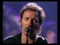 """Here is one of the best version's of Bruce Springsteen performing one of my favorites """"I Wish I Were Blind"""" but he does this without the E-Street Band. Terrific job by the Boss! He just looks cool in this video clip!"""