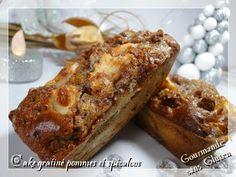 Cake gratiné pommes spéculoos sans gluten