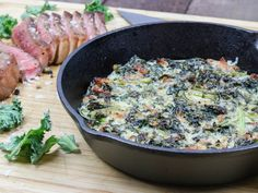 Kale Recipes, Vegetable Recipes, Gluten Free Recipes, Keto Side Dishes, Healthy Dishes, No Sugar Foods, Stop Eating, Roasted Chicken