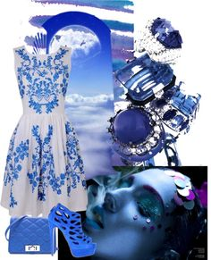 """Blue"" by danigregg on Polyvore"